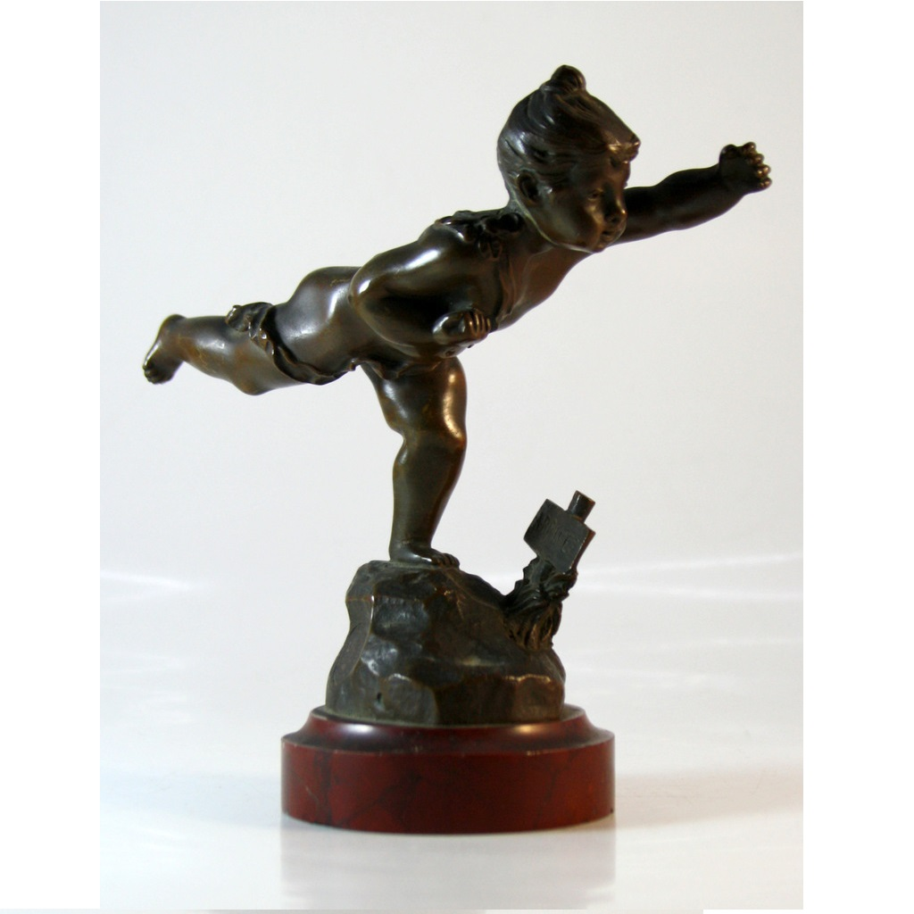 Paul Dubois Bronze Sculpture