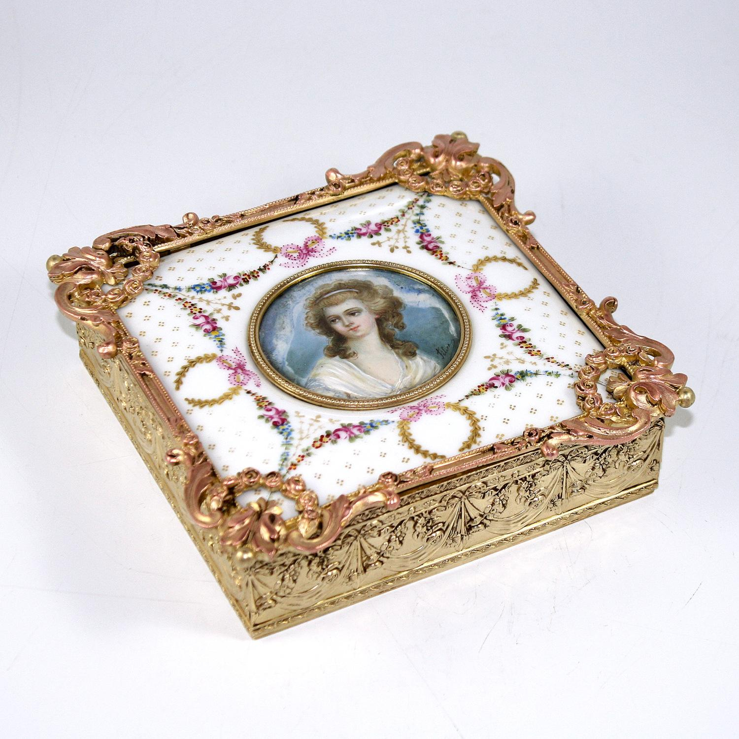 Louis XV Style Jewelry Box