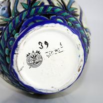 Art Deco Charles Catteau - Boch Freres Ceramic Vase