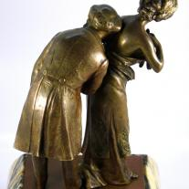 """The Cardiologist"" Carl Kauba Bronze"