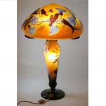 Art Nouveau Galle Lamp