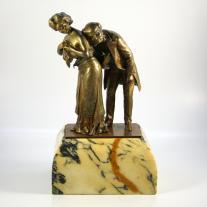 """The Cardiologist"" Carl Kauba Bronze"