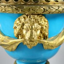 Sevres Style Porcelain Urn