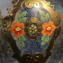 Venetian Art Glass Bottle With Stopper