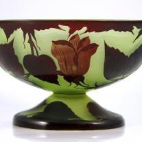 Art Nouveau Cameo Glass Signed Loetz