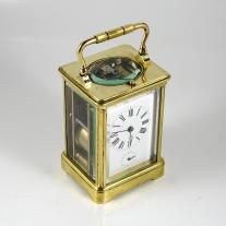 Gilt Bronze Carriage Clock