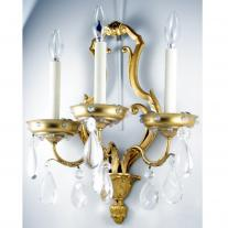 JANSEN-STYLE PAIR OF SCONCES