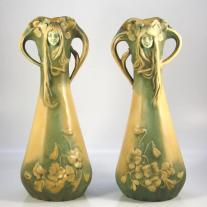 Bernard Bloch Pair of Vases
