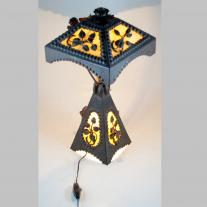 GERMAN WROUGHT IRON LAMP