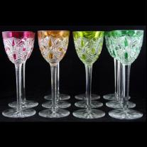 Baccarat Set of Cut Crystal Goblets (11 p.) - Bogota Pattern