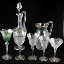 St. Louis Crystal STL2-Pattern Stemware Set (71 p.)