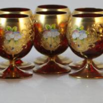 Venetian Glass Liqueur Set