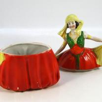 German Bonbonnières Porcelain