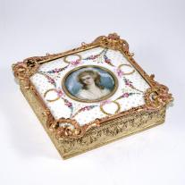 Louis XV Style Jewelry Box