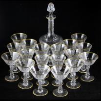 St. Louis Crystal Stemware Set (19 p.)